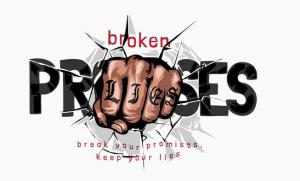Broken Promises Lead to Divorce
